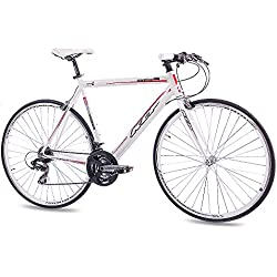 "28"" KCP ROAD RACING BIKE MARATHON ALLOY 21 Speed SHIMANO white 56cm (28 Inch)"