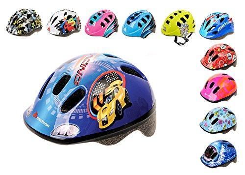 Meteor-Kinder Fahrradhelm, Skaterhelm, Sicherheitshelm METEOR (RACING, XS)