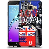 Head Case Designs Tower Bridge J'aime Londres Étui Coque en Gel molle pour Samsung Galaxy A3 (2016)