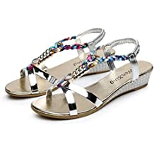 Yesmile Sandalias para Mujer Zapatos Casual de Mujer Sandalias de Verano para Fiesta y Boda Sandalias