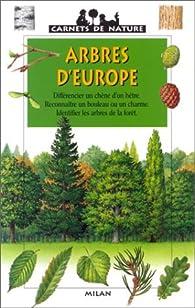 Arbres d'Europe par James Gourier