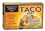 Taco Dichter - Kühlschrankmagnet Set - Kühlschrank Poesie