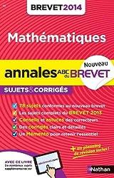 ANNALES BREVET 2014 MATHS