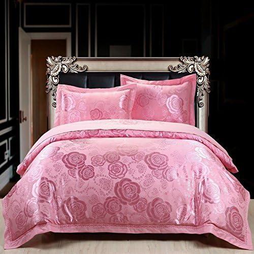 DACHUI remplir Literie en coton pur remplir DACHUI au printemps et d'été jours satin soie soft textile respirant une rose, febc7e