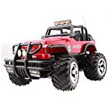 GZD RC Rock Off-Road Vehicle 2.4Ghz 4WD High Speed ??1:18 Voitures de course Voitures RC Télécommande Télécommande Voitures Electric Rock Crawler Electric Buggy Hobby Car Fast Race Crawler Truck Sans