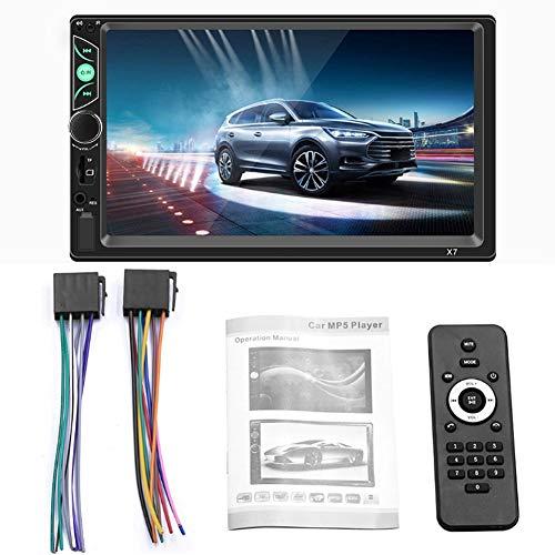 Qinlorgo X7 7-Zoll-HD-Auto Bluetooth MP5-Player für Apple/Android-Telefon-Zusammenschaltung Car Center Control Rm Wav Converter