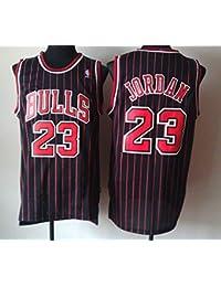 Zhao Xuan Trade Maglia da Uomo Jersey Bulls Vintage NBA Champion Michael Jordan  Maglia Chicago Bulls   23 Maglia da Basket Swingman… 03160970ac79
