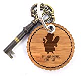 Mr. & Mrs. Panda Rundwelle Schlüsselanhänger Fee - Fee,Zauberfee Schlüsselanhänger, Anhänger, Taschenanhänger, Glücksbringer, Schlüsselband