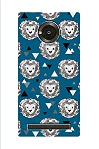 ZAPCASE PRINTED BACK COVER FOR MICROMAX YU YUPHORIA