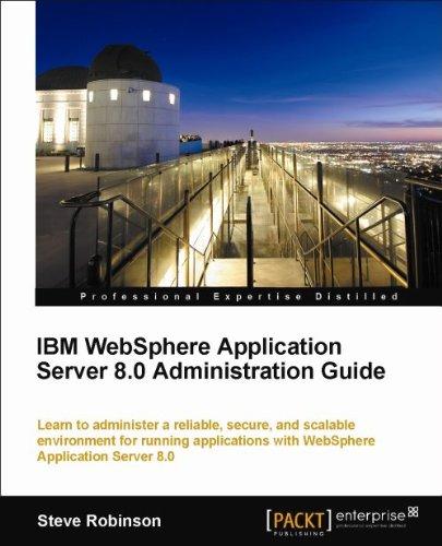 Ibm websphere application server 8. 0 administration guide o.