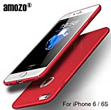 #8: Amozo® iPhone 6/6S Case - RED - All Sides Full Protection