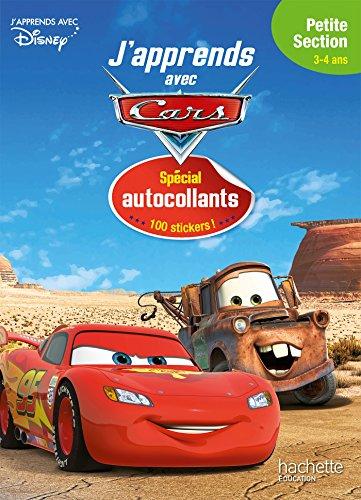 Cars p'tits autocollants PS