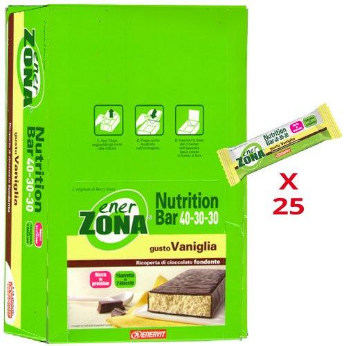 enerZONA bar Nutrition vaniglia box da 25 - 51rxGmq6brL