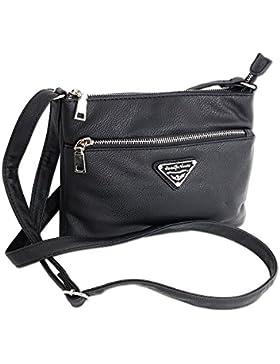 Jennifer Jones Taschen Damen Damentasche Handtasche Schultertasche Umhängetasche Tasche klein Crossbody Bag in...