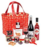 """Ducs de Gascogne - Panier gastronomique """"Le Flamboyant"""" - comprend 9 produits dont un bloc de foie gras - 944871..."""