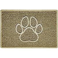Nicoman PAW Embossed Shape Door Mat Dirt-Trapper Jet-Washable Doormat-(for Indoor or Sheltered Outdoor)- (60x40cm/23…