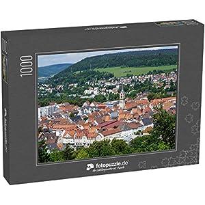 51rxJZunf3L. SS300  - Puzzle Stadt Tuttlingen in Süddeutschland im Sommer - Klassische Puzzle, 1000/200/2000 Teile, in Edler Motiv-Schachtel, Fotopuzzle-Kollektion 'Deutschland'