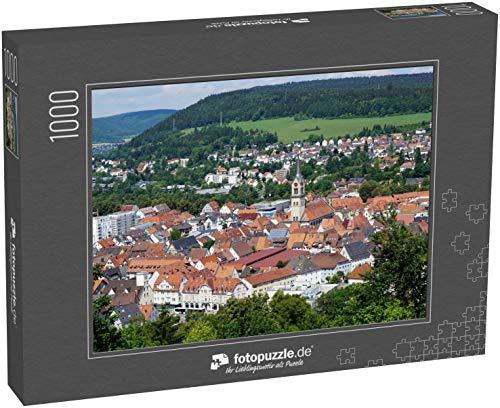 51rxJZunf3L - Puzzle Stadt Tuttlingen in Süddeutschland im Sommer - Klassische Puzzle, 1000/200/2000 Teile, in Edler Motiv-Schachtel, Fotopuzzle-Kollektion 'Deutschland'