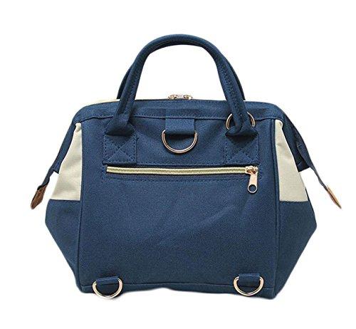 Ms. Messenger Bag Sacchetto Di Svago Oxford Stoffa Tre Bocca Grande Con Un Sacchetto Di Borsa Da Viaggio Di Piacere Rampa Zaino Portatile Yellow