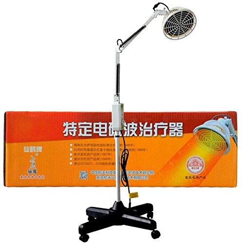 G&Y 300 Watt TDP Far Mineral Wärme Lampe Platte Therapielicht 166mm Schmerzlinderung Heizgerät für Arthritis Entzündung Wunde Muskeln (Desktop Heizgerät Tragbares)