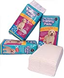 New 20 Super Saugfähig House Pads Welpen Hund Puppy WC-Wee 60 x 45 cm