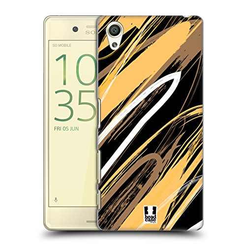 head-case-designs-wheat-brown-scribbles-hard-back-case-for-sony-xperia-x-x-dual