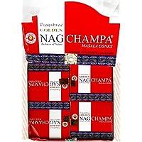 Golden Nag Champa Räucherkegel incense cones 12x10 Stück=120 preisvergleich bei billige-tabletten.eu