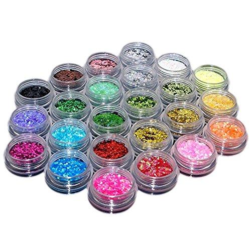 trixes-80-stuck-gemischte-kosmetik-und-make-up-glitzer-verschiedene-formen-und-farben-glitter