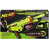 Nerf Lumitron Glow in the Dark Disc Blaster Gun Toy NEW
