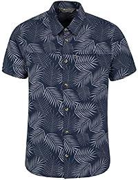 Mountain Warehouse Tropical Printed Mens Short Sleeved Shirt