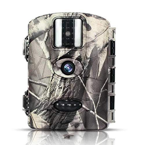 Jagdkamera, 1080P 16MP-Tracking-Jagdkamera, Action-aktivierte Nachtsicht 20 Meter, 2,4-Zoll-LCD-Bildschirm IP66 Wasserdichtes Design