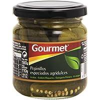 Gourmet Pepinillos Especiados Agridulces Al vinagre - 110 g