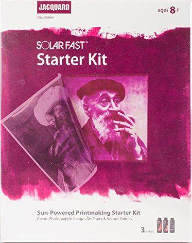 Jacquard SolarFast Starter Kit- (Alte Film-t-shirts)