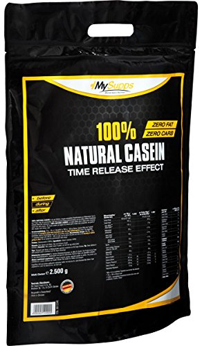 My Supps 100% Natural Casein, 1er Pack (1 x 2 kg)