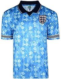 Official Retro England 1990 World Cup Finals Retro Third Shirt 100% POLYESTER