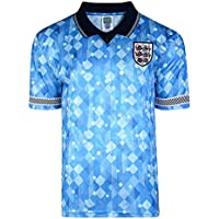 Official Retro England 1990 World Cup Finals Retro Third Shirt 100% POLYESTER