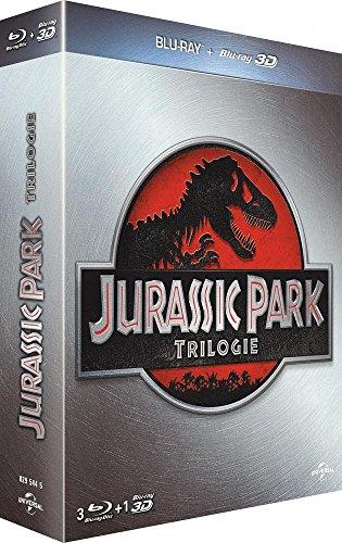 Jurassic Park Trilogie [Combo Blu-ray 3D + Blu-ray 2D]