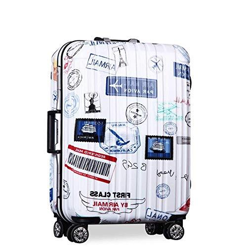 QWW Bagages à main pour cabine de valise rigide en ABS...