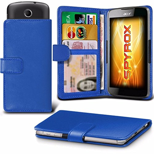 coolpad-rogue-blue-case-clamp-style-wallet-protective-pu-leather-cover