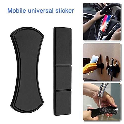 2 Stk Rutschfeste Nano Gummi Faltbar Pad Mat Gel Dash Auto Halterung Ständer für Telefon