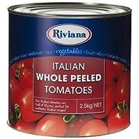 Riviana Alimentos Enteros y Pelados los Tomates 2.5 kg