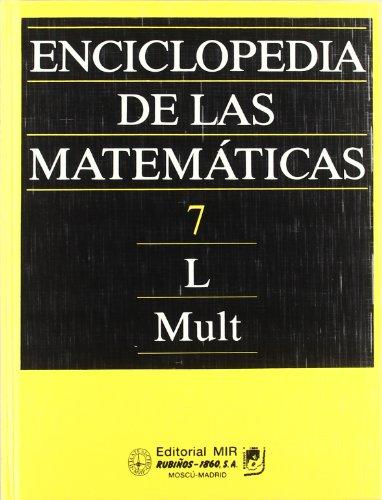 Enciclopedia De Las Matematicas 7 (Fondos Distribuidos) por I. M. Vinogradov