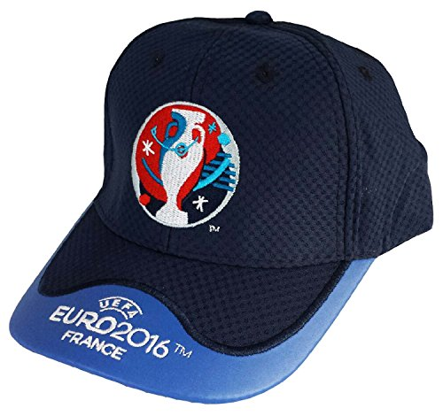 2804864197 UEFA EURO 2016 Casquette Collection Officielle - Taille adulte