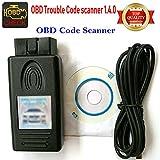 OBD Scanner V1.4.0, pa-Soft v1.4.0-obd2Diagnostic Interface Werkzeug für BMW Cars-hr-Tool