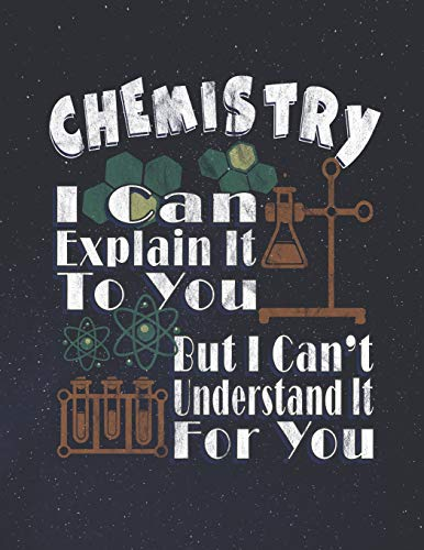 """Chemistry Laboratory Notebook: Each Page is Half College Ruled and Half 4"""" x 4"""" Grid Paper -120 Pages - 8.5"""" x 11"""" - Lab Journal for Chemistry, Physics, Biology and Other Sciences"""