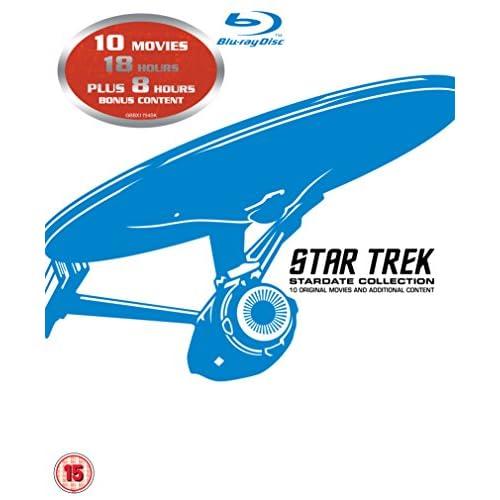 Star Trek - 10 Movie Stardate Collection (12 Blu-Ray) [Edizione: Regno Unito] [Reino Unido] [Blu-ray] 3