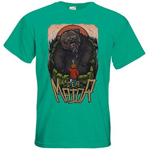 getshirts - Staiys Haute Couture - T-Shirt - der Major Pacific Green