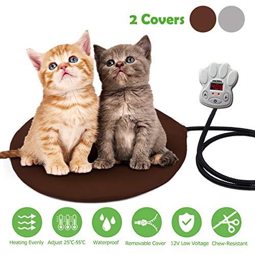 Cojín de Calefacción para Mascotas FOCHEA 15W Manta Eléctrica para Perros y...