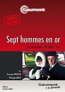 Sept hommes en or [Edizione: Francia]