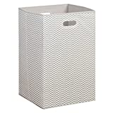 Best Whitmor Box Sets - InterDesign 05201 Axis Chevron Folding Clothes Laundry Hamper Review